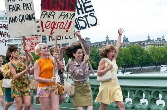 Made in Dagenham - this movie made me so happy!