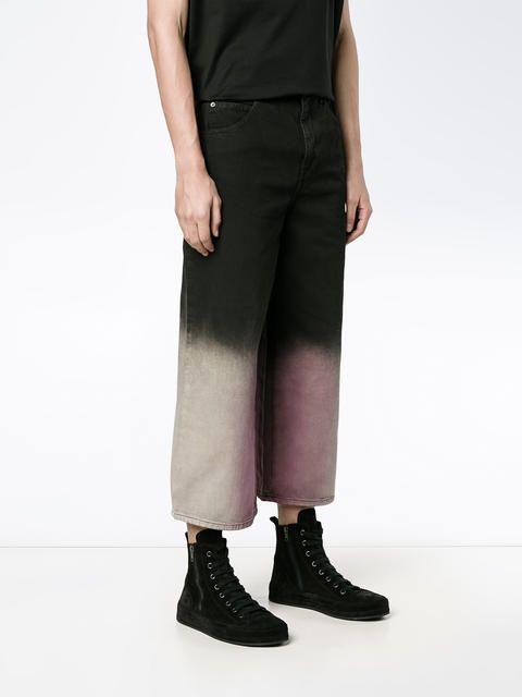 J.W.Anderson укороченные джинсы