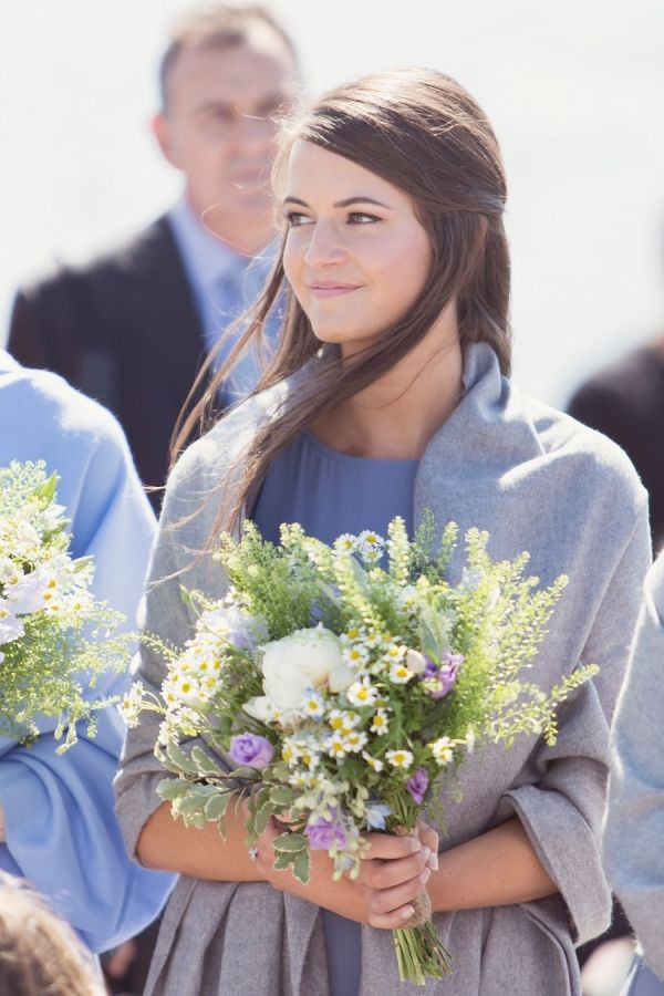 Pretty in lavender: http://www.stylemepretty.com/destination-weddings/2015/10/23/rustic-scottish-seaside-summer-wedding/ | Photography: Craig & Eva Sanders - http://craigevasanders.co.uk/