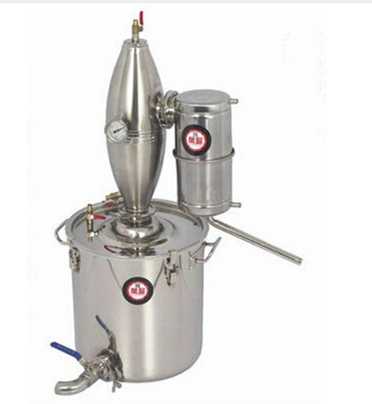 18L Distiller Stainless Bar Household equipment wine Distillation Boiler Brewing Equipment vodka maker brew alcohol whisky RH