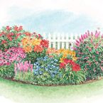 1000 images about simple gardening on pinterest sun for Preplanned flower garden designs