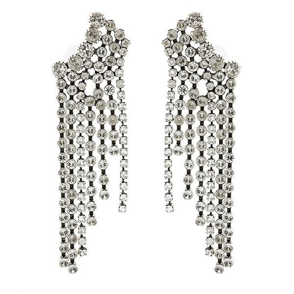 Isabel Marant A Wild Shore chandelier earrings (€395) ❤ liked on Polyvore featuring jewelry, earrings, metallic, isabel marant, chandelier earrings, earring jewelry, chandelier jewelry and isabel marant jewelry