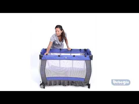 (3) Cuna Corral Pack & Play RS-6070 - Bebeglo - YouTube