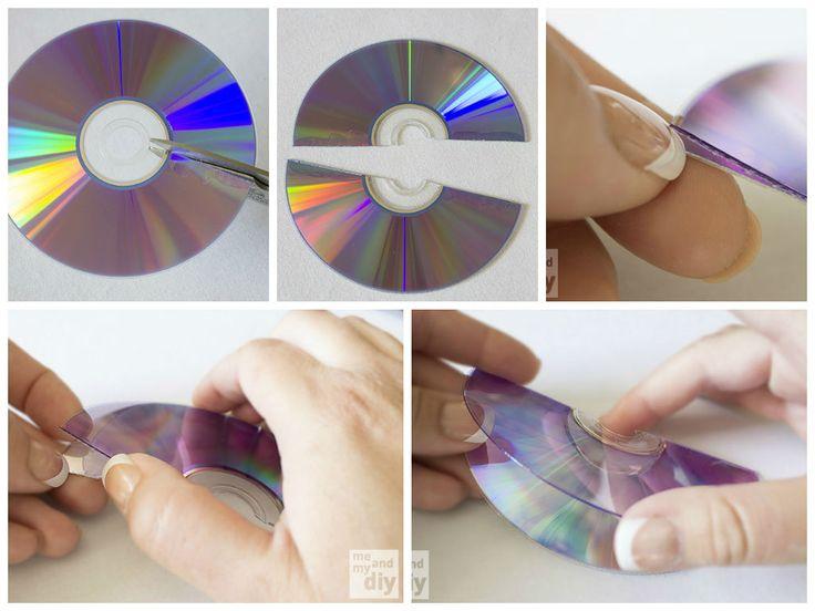 mosaico-com-cd-pedaços-como-fazer