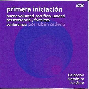 DVD BUENA VOLUNTAD, SACRIFICIO, UNIDAD - RUBEN CEDEÑO (CONFERENCIA) - librosmetafisica.com