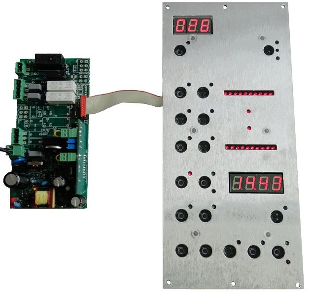 Electronic control systems for professional and industrial ovens