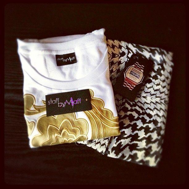 More goodies from @staffbymaff #goldenflowersweatshirt #houndstoothmaxi #wakeupbossphonecase #staffbymaff #sbmaustralia #clothes #fashion #style #instafashion #style #label #poland #represent #Padgram