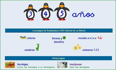 JUEGOS INFANTILES ONLINE: JUEGOS PARA NIÑOS DE 3 a 5 AÑOS