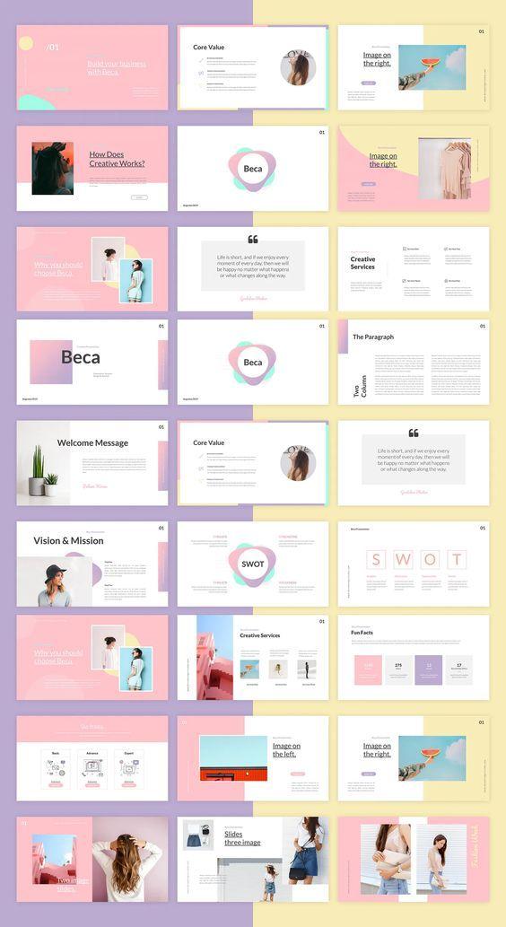 Beca Google Slides Template Presentation Slides Design Presentation Slides Templates Presentation Design Template