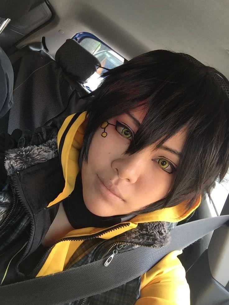 Kuroha's selfie before going to drive? Hibiki-kuuunnnn here I commmmeeeeeee