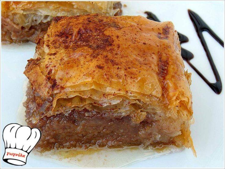 ΓΑΛΑΚΤΟΜΠΟΥΡΕΚΟ ΜΕ ΣΟΚΟΛΑΤΑ!!! | Νόστιμες Συνταγές της Γωγώς