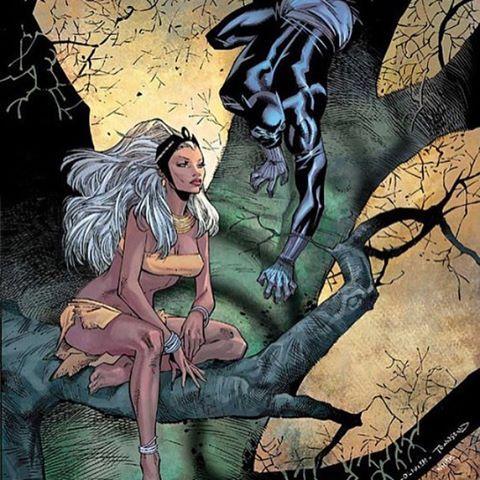 The royals ⚡️  #OroroMunroe #Storm #Xmen #StormXmen #XmenStorm #Marvel #Marvelcomics #Superheroes #WindRider #Weatherwitch #XmenMovies #XmenComics  #XmenApocalypse #MarvelUniverse  #blackpanther #tchalla #wakanda #avengers