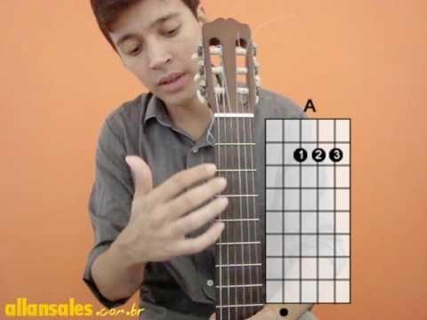 Aulas de violão para iniciantes - nº1 - YouTube