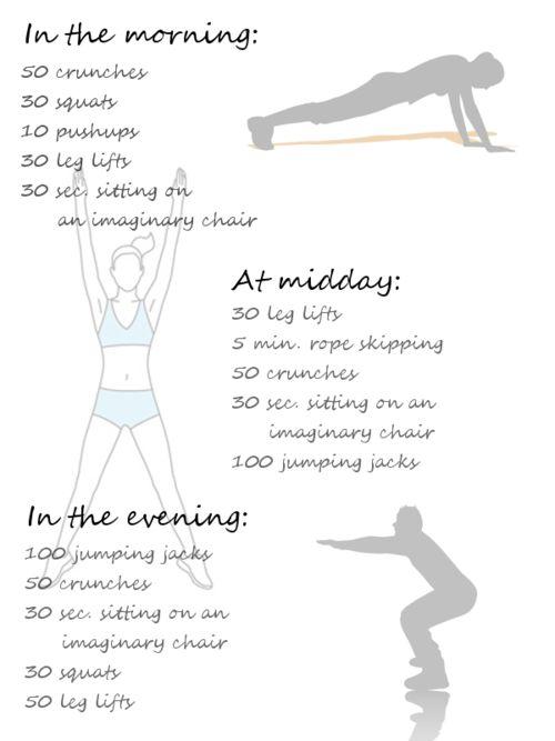 Love having workouts broken up :) great idea :)