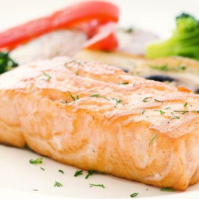 Le ricette di Cukò: SALMONE AL VAPORE CON GROSSOLANA DI FINOCCHI E PORRI AL TIMO
