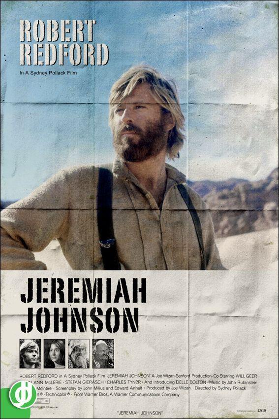 JEREMIAH JOHNSON. Poster designed by Jidé.
