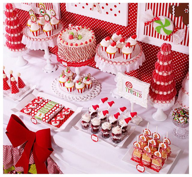 "Photo 1 of 36: CANDY CHRISTMAS / Christmas/Holiday ""Candy Christmas & Hot Cocoa Bar"" 