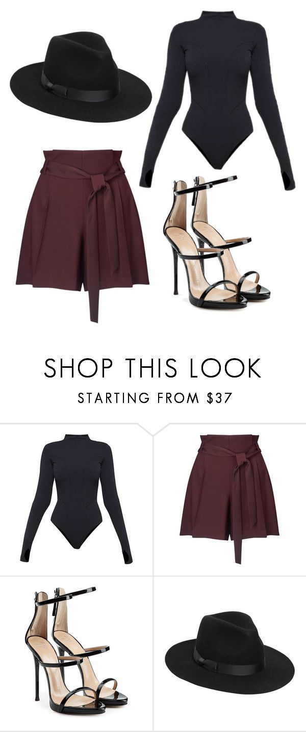 """Simple but classy"" by tovenilsen on Polyvore featuring Ivy Park, Miss Selfridge, Giuseppe Zanotti and Lack of Color"