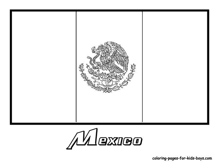 soccer flags coloring pages - photo#7