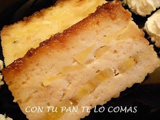 Con tu pan te lo comas: PUDIN DE PAN CON FRUTAS