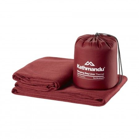 Sleeping Bag Liner Thermal - Molten Red