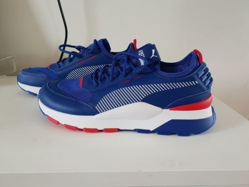 db7f450625179d BN Puma Men s RS-0 X Sega Sonic - Surf The Web Chinese Red Sneakers US 9.5