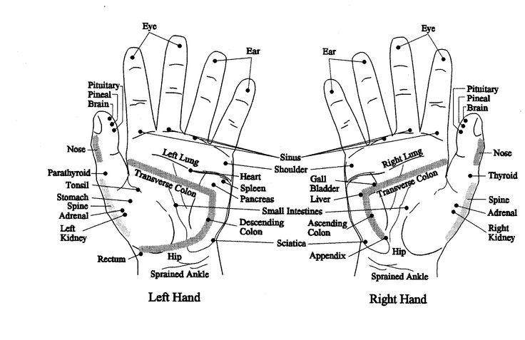 Ρεφλεξολογία: Ποιες ασθένειες φαίνονται στα χέρια μας;