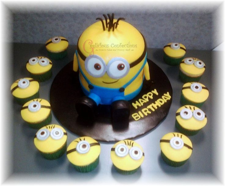 Minion Cake Decorations Uk : 17 Best images about Gabriel s 1st Birthday on Pinterest ...