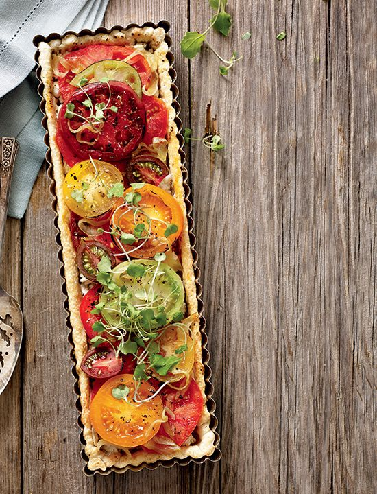 78 Best ideas about Heirloom Tomato Tart on Pinterest ...