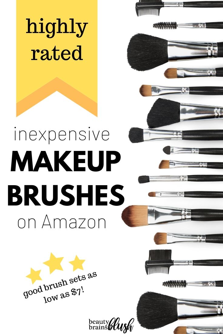 Best Rated Makeup Brushes On Amazon Beautybrainsblush Makeup Brushes Amazon Inexpensive Makeup Brushes Makeup Brush Set Amazon