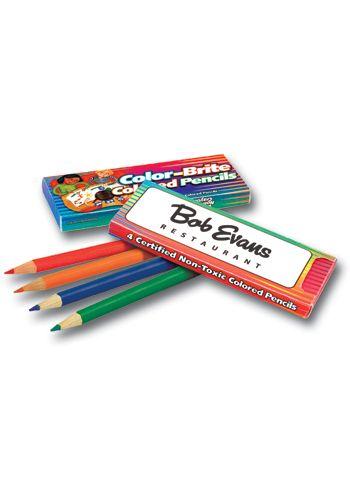 Personalized Promo Color-Brite Colored Pencils AK01250