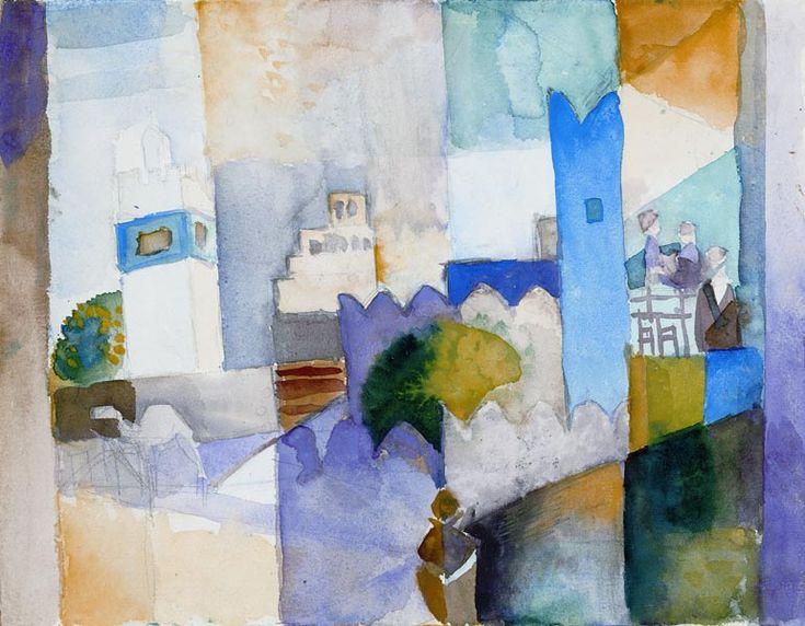 August Macke Kairouan Art Pinterest August Macke