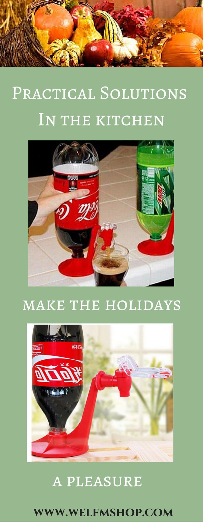 This beverage dispenser is a must have for any holiday or Thanksgiving ideas on your shopping list in 2015. It's a great kitchen gadget at an affordable price.