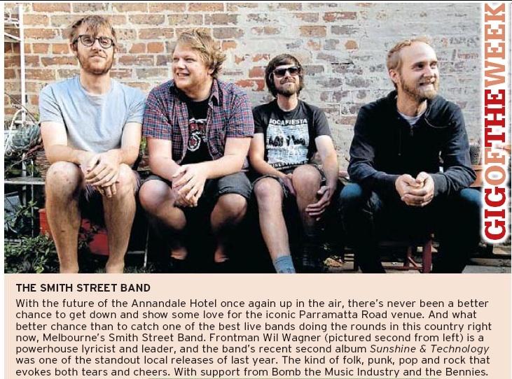 Sydney Morning Herald March 14
