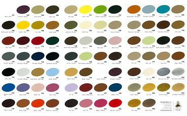 Trg 174 The One Leather Shoe Dye Color Chart Refashioning