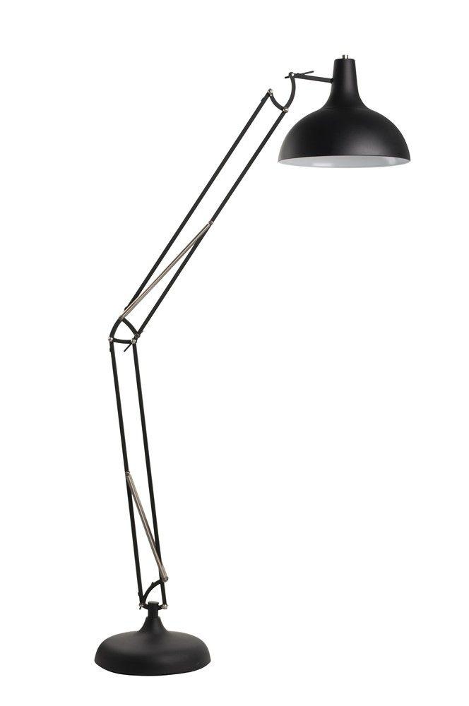 Zuiver Vloerlamp Office - Zwart