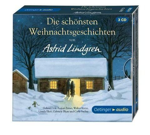 Die schönsten Weihnachtsgeschichten (3 CD) - Astrid Lindgren, Kay Poppe