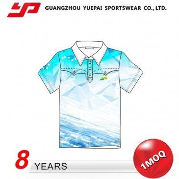 昇華プリントユニフォーム、ポロシャツ、poloシャツ、メンズシャツ