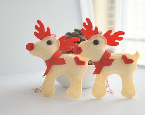 Moldes gratis de figuras navideñas en fieltro10