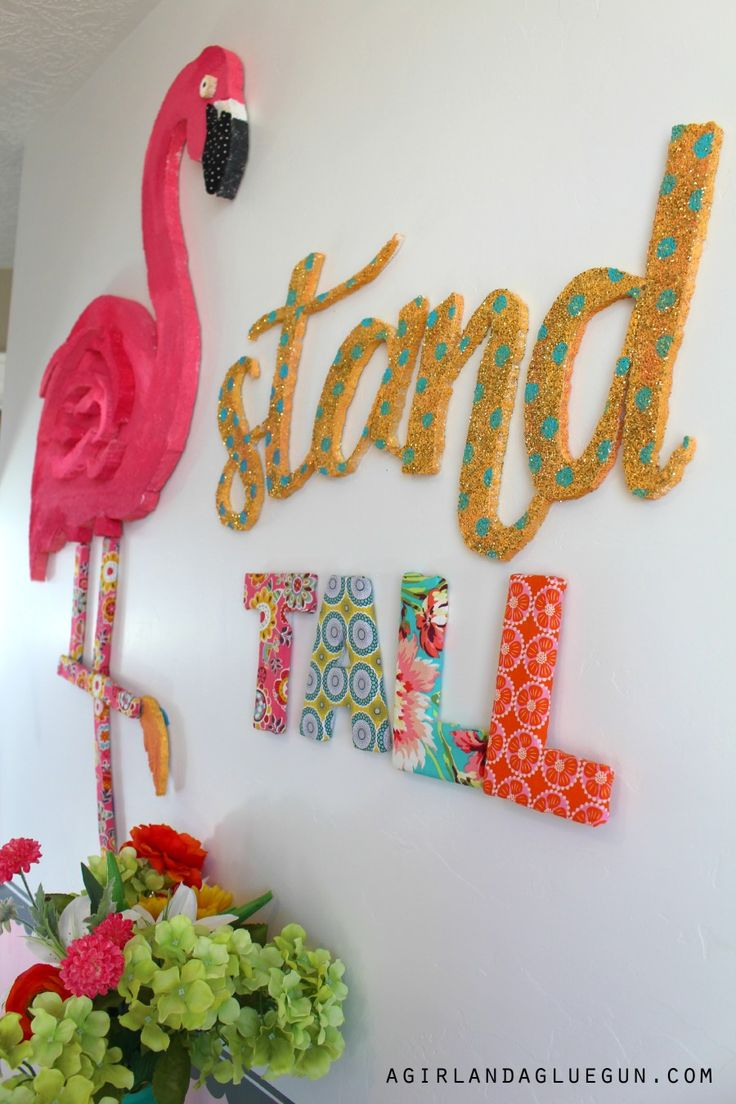 stand tall–giant flamingo!