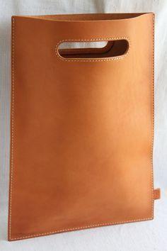 Bildresultat för leather shopping bag
