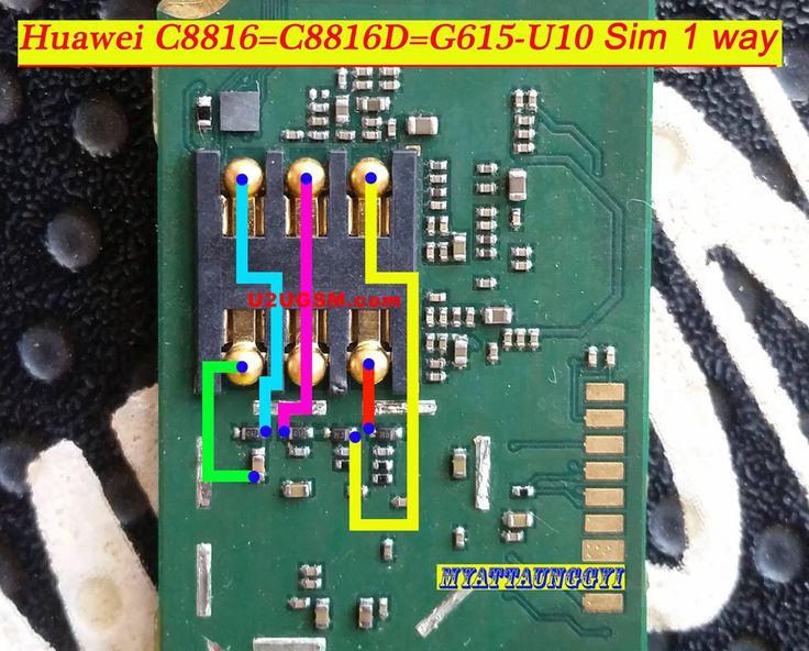 Huawei ascend g615 insert sim card problem solution jumper