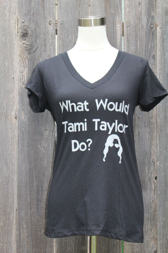 What Would Tami Taylor Do V neck Women's Screenprinted