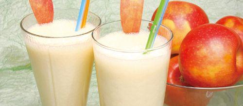 Receita de Vitamina de maçã e laranja. Descubra como cozinhar Vitamina de maçã e laranja de maneira prática e deliciosa com a Teleculinaria!