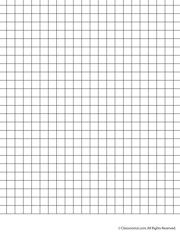 Printable Graph Paper and Grid Paper 1 cm Grid Paper