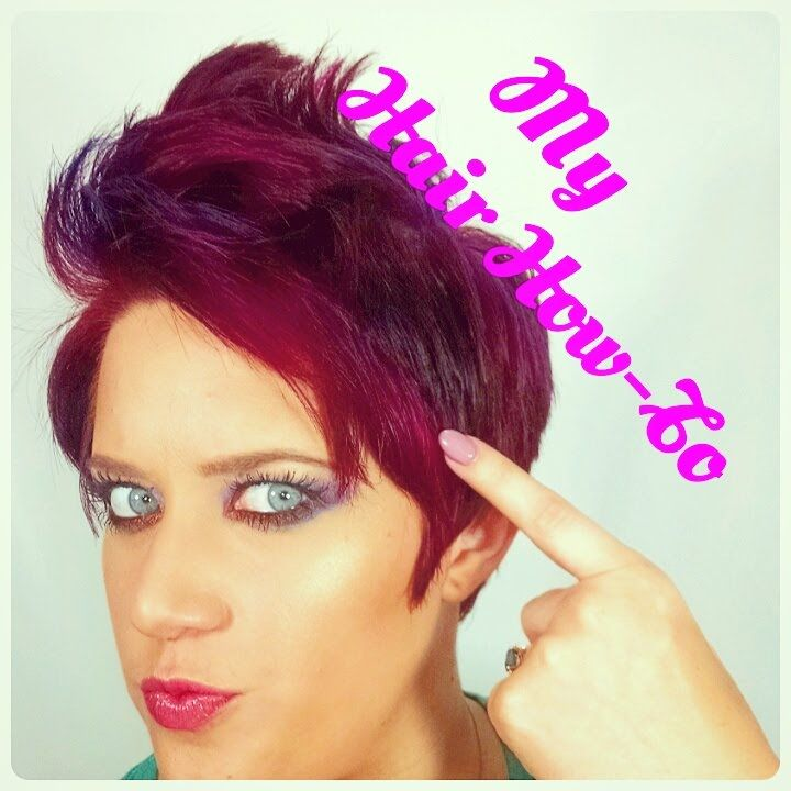 How I Do My Hair - Pixie Faux Hawk