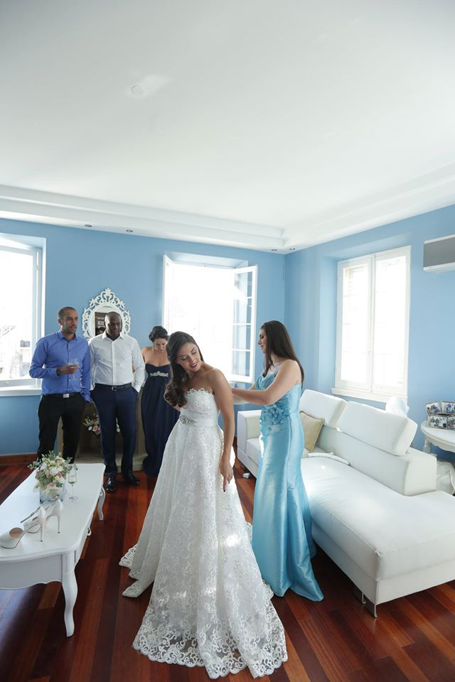 Real Bride by Marianna Kastrinos Couture