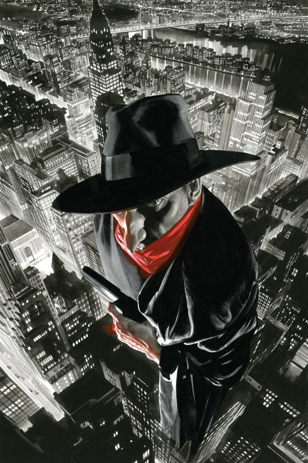 The Shadow #12 cover by Alex Ross