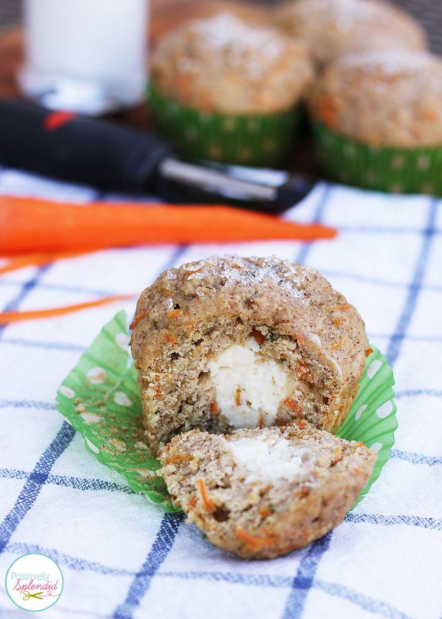 King Arthur Flour Carrot Cake Muffins