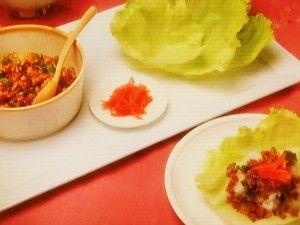 おさらいキッチン | NHKきょうの料理ビギナーズ「肉そぼろのレタス包み」のレシピby河野雅子 9月8日